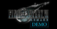 Final Fantasy VII Remake Demo Banner