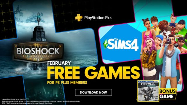 PlayStation Plus Games for February 2020