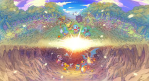 Pokemon Mystery Dungeon Rescue Team DX Key Visual