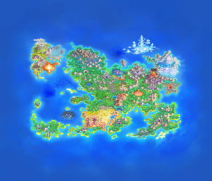 Pokemon Mystery Dungeon Rescue Team DX Map