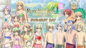 Rune Factory 4 Special Swimsuit Day DLC