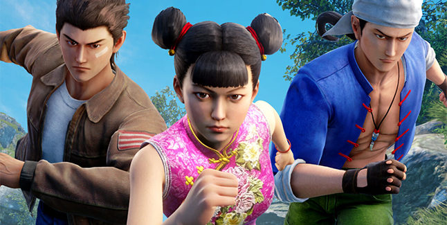Shenmue III Battle Rally DLC Banner