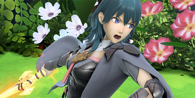 Super Smash Bros Ultimate Byleth Banner