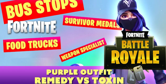 Fortnite Chapter 2 Remedy VS Toxin Challenges Guide