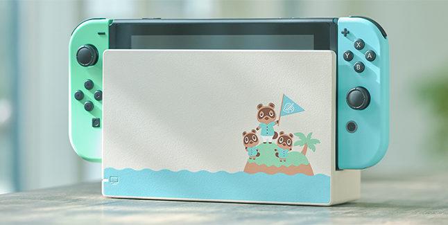 Animal Crossing New Horizons Switch Aloha Edition Banner