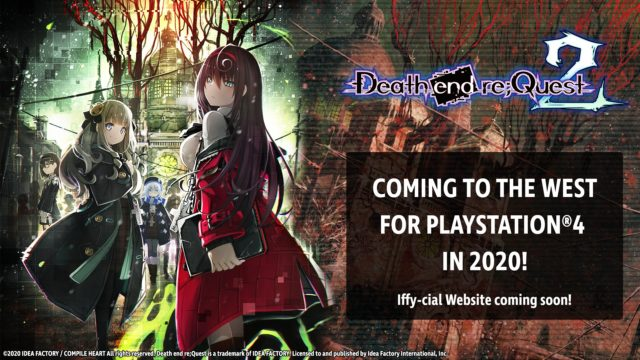 Death end reQuest 2 Coming West