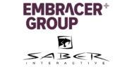 Embracer Group Saber Interactive Logos