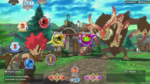Little Town Hero PS4 Battle Screen