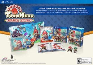 Little Town Hero PS4 Big Idea Edition