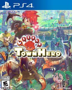Little Town Hero PS4 Boxart