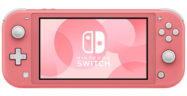 Nintendo Switch Lite Coral Banner