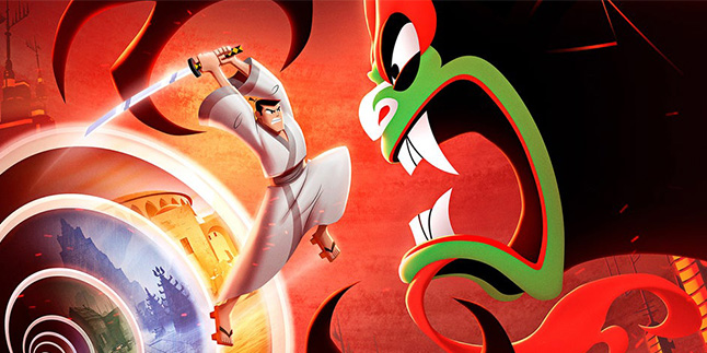Samurai Jack Battle Through Time Banner