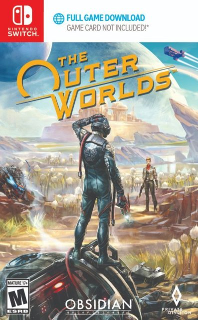 The Outer Worlds Switch Boxart