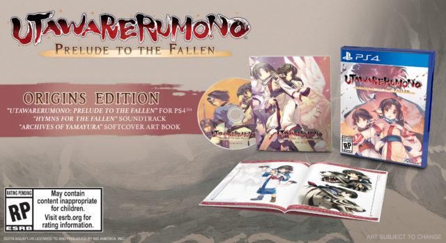 Utawarerumono Prelude to the Fallen Origins Edition