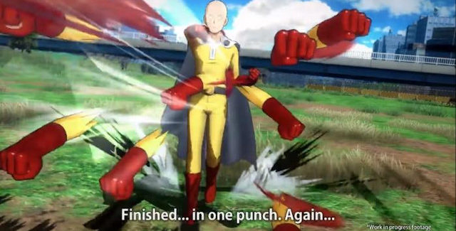 One-Punch Man: A Hero Nobody Knows game release