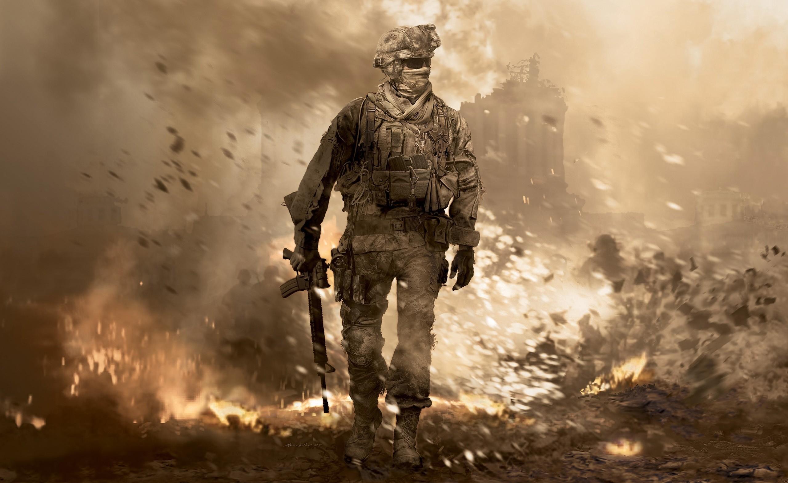 Call of Duty Modern Warfare 2 Key Visual