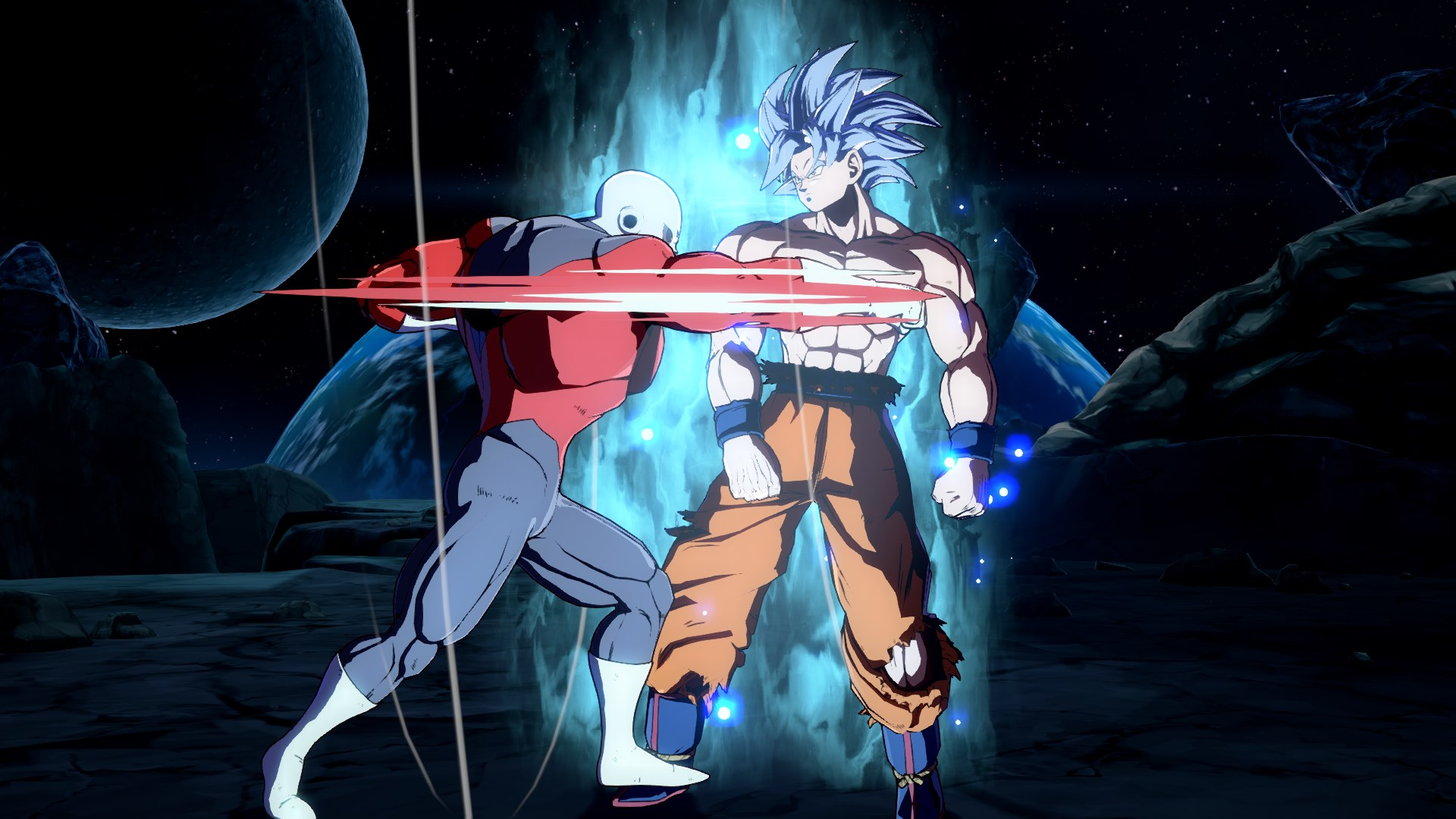 Dragon Ball FighterZ DLC Character Goku Ultra Instinct Screen 10