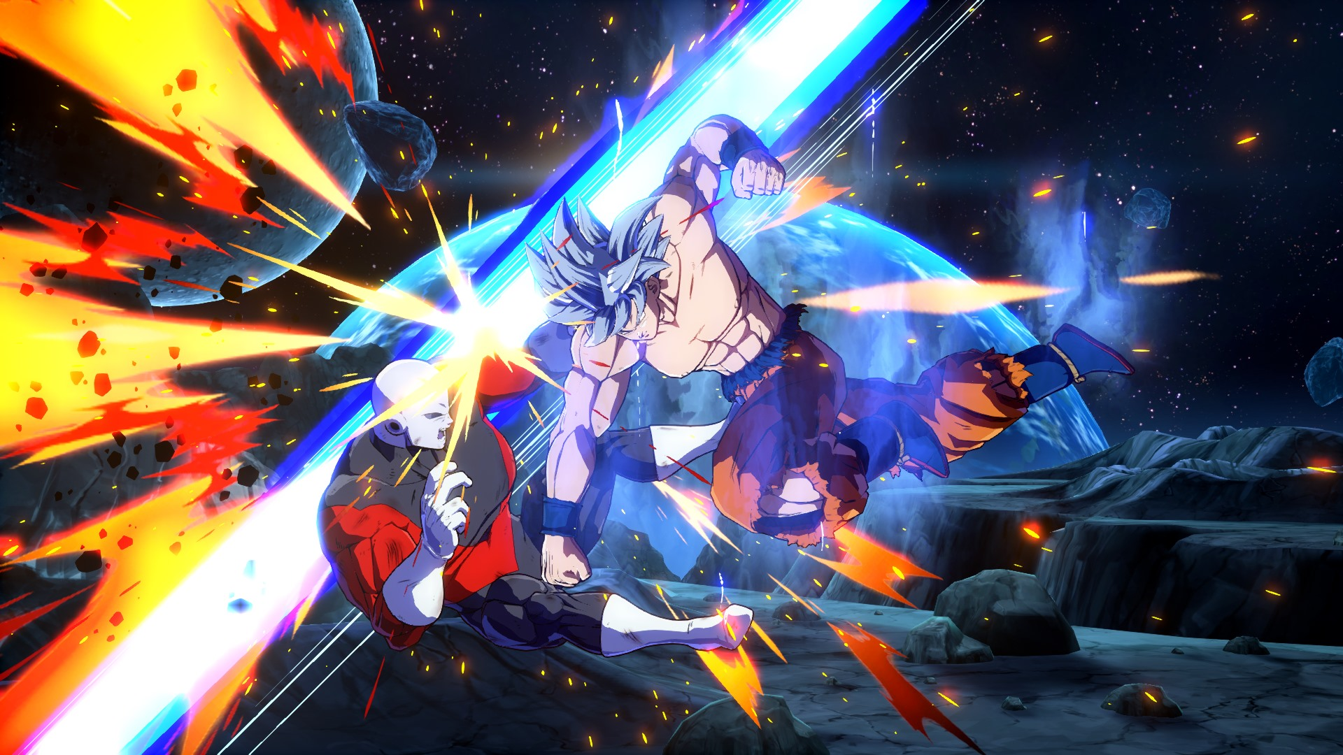Dragon Ball FighterZ DLC Character Goku Ultra Instinct Screen 19