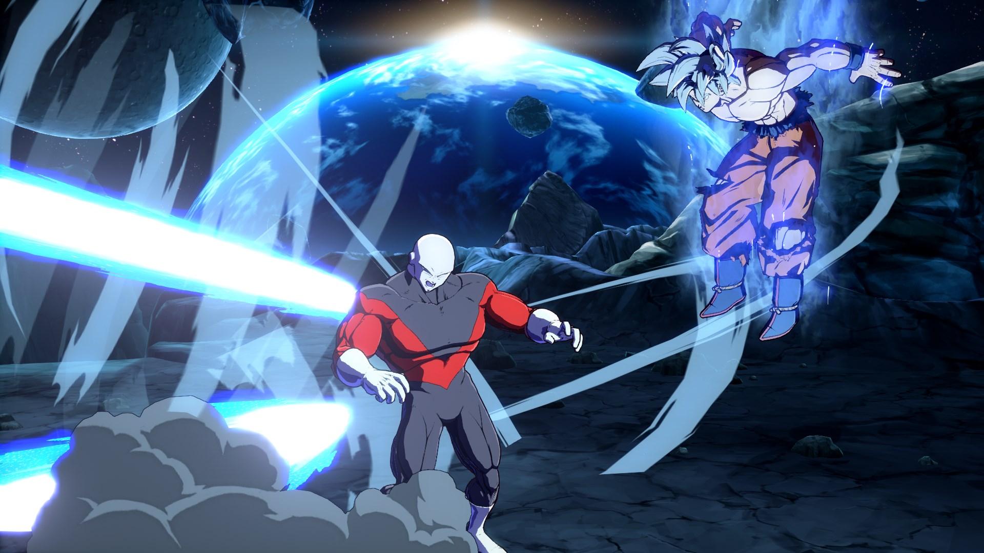 Dragon Ball FighterZ DLC Character Goku Ultra Instinct Screen 4