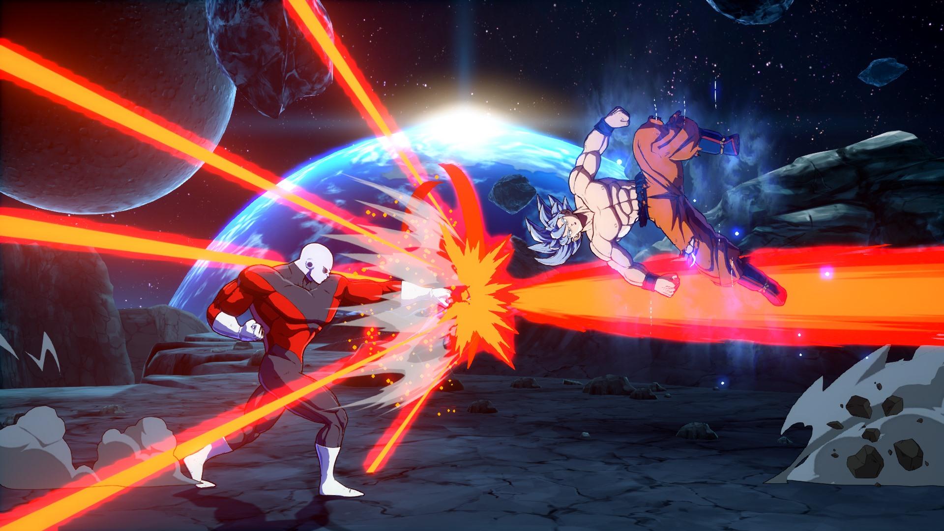 Dragon Ball FighterZ DLC Character Goku Ultra Instinct Screen 6