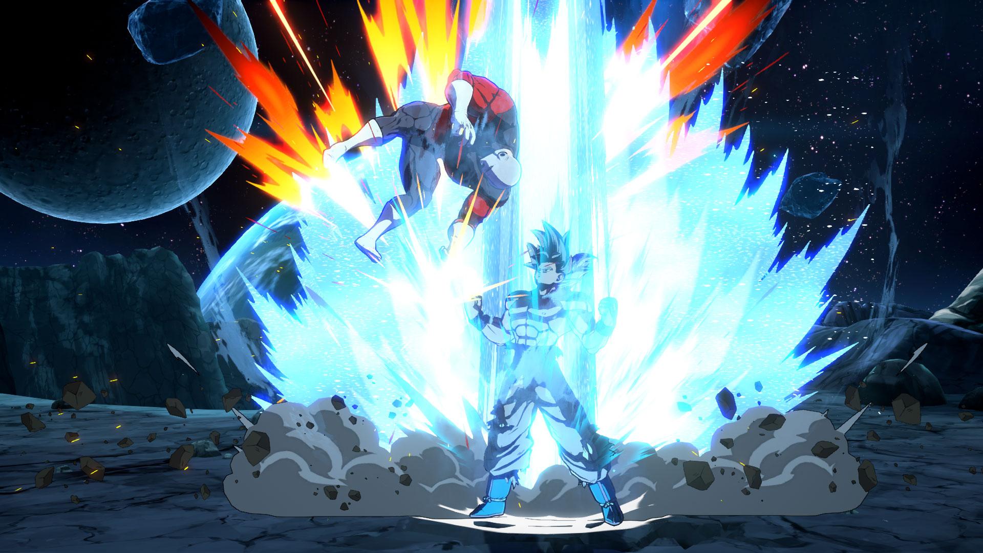 Dragon Ball FighterZ DLC Character Goku Ultra Instinct Screen 7