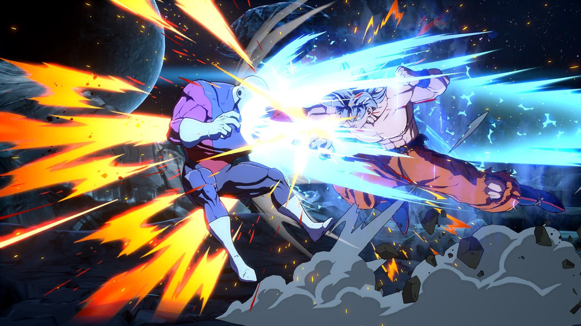 Dragon Ball FighterZ DLC Character Goku Ultra Instinct Screen 8