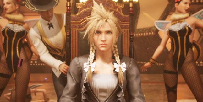Final Fantasy VII Remake Screen 1