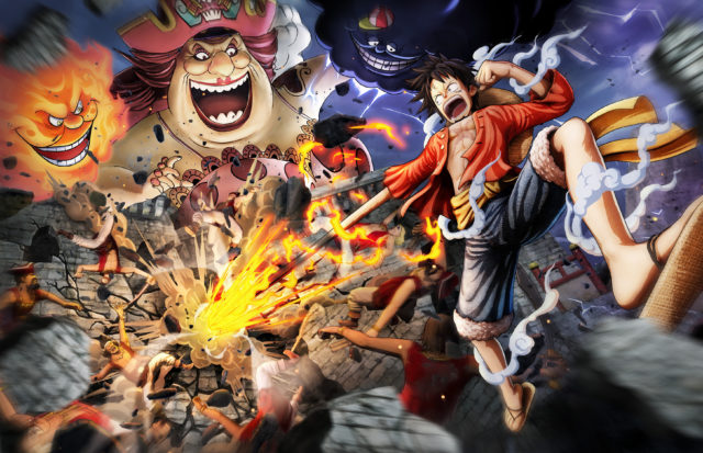 One Piece Pirate Warriors 4 Key Visual
