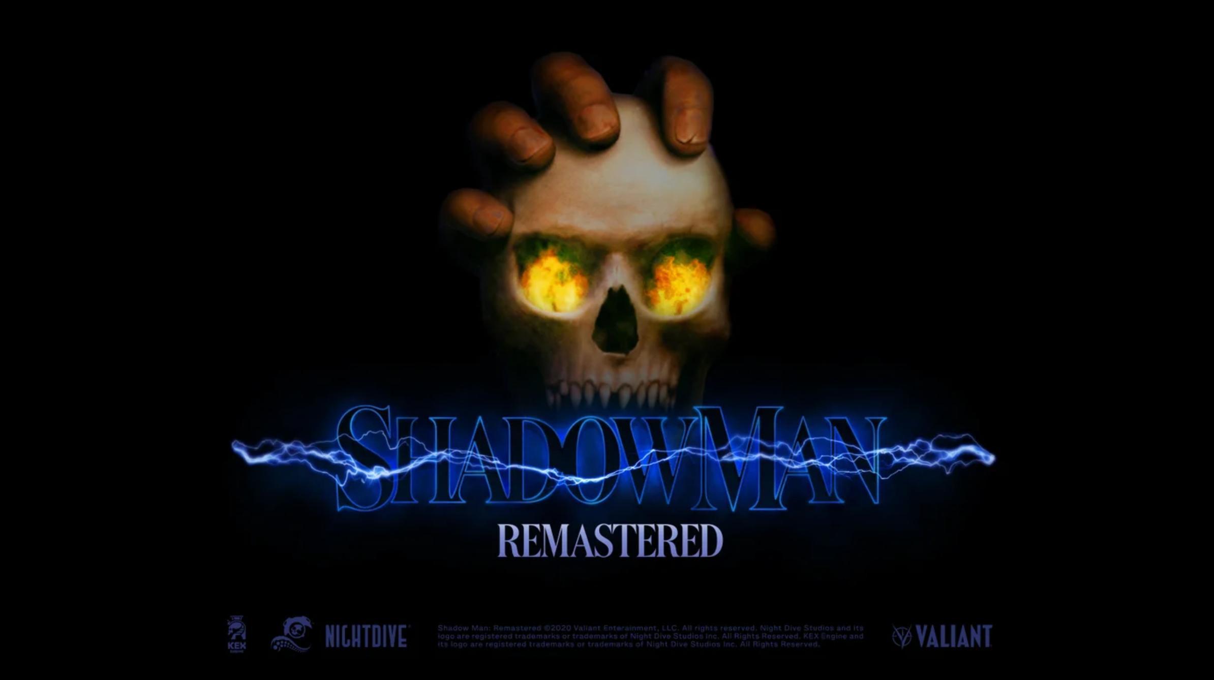Shadow Man Remaster Banner