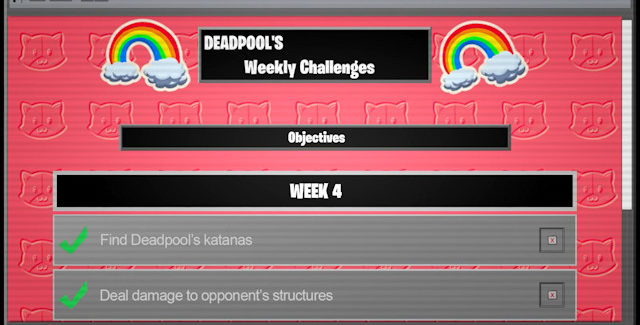Fortnite Chapter 2 Season 2 Week 4 Deadpool Challenges Guide