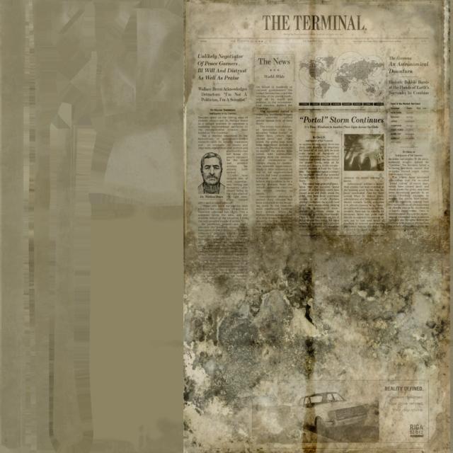 Half-Life: Alyx The Terminal Newspaper
