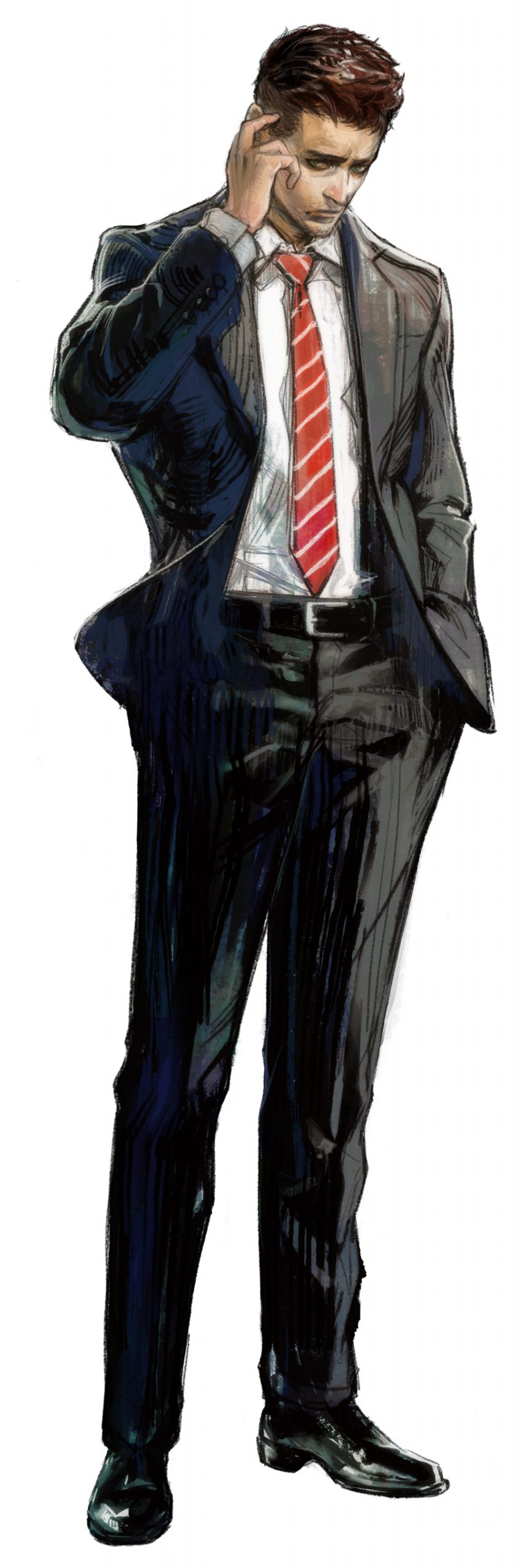 Deadly Premonition 2 A Blessing in Disguise York Character Art
