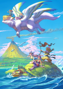 Trials of Mana Launch Illustration 1