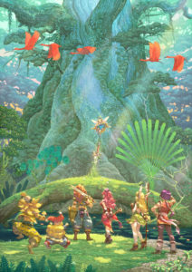Trials of Mana Launch Illustration 2