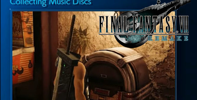 Final Fantasy VII Remake Music Discs Locations Guide