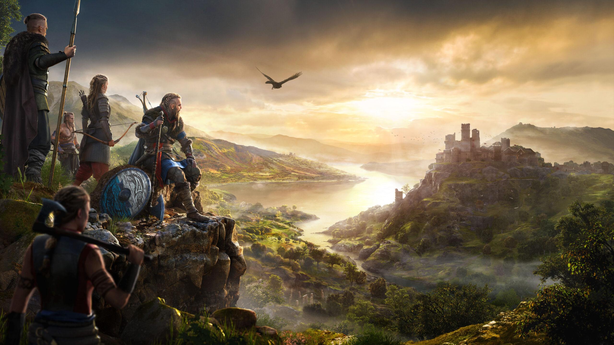 Assassins Creed Valhalla Key Art