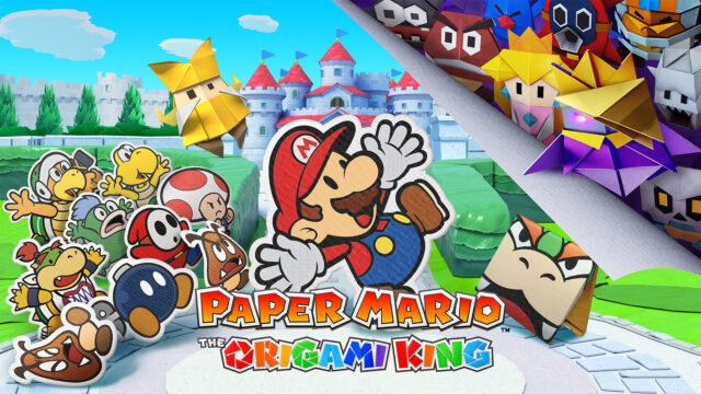 Paper Mario The Origami King Key Art