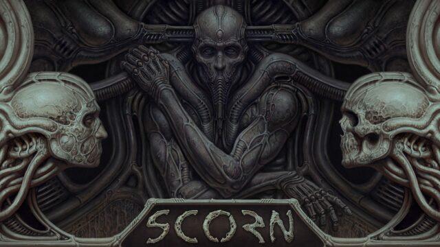 Scorn Key Art