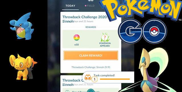 Pokemon Go Sinnoh Throwback Challenge Tasks and Rewards Guide