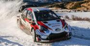 WRC 2020 Toyota Banner
