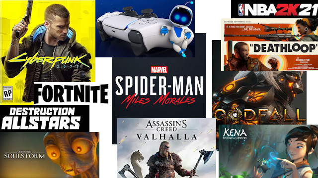 PlayStation 5 Launch Games
