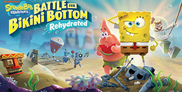 SpongeBob SquarePants: Battle for Bikini Bottom - Rehydrated game release