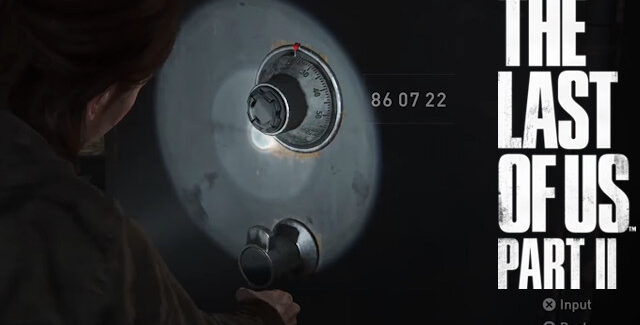 The Last of Us Part 2 Vault & Safe Codes