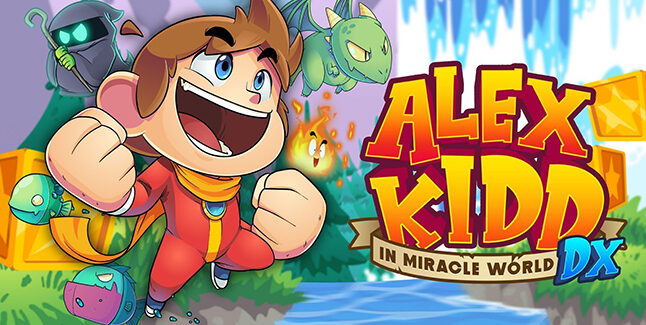 Alex Kidd in Miracle World DX Key Visual