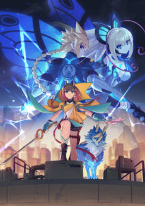 Azure Striker Gunvolt 3 Key Art