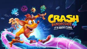 Crash Bandicoot 4 Its About Time Key Art