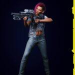 Cyberpunk 2077 Character Render 11