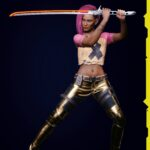 Cyberpunk 2077 Character Render 9
