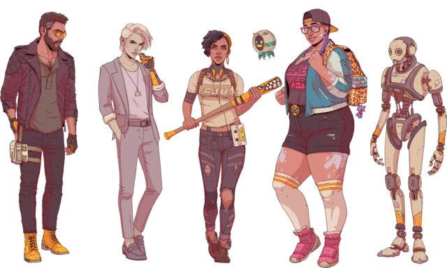Dustborn Character Art