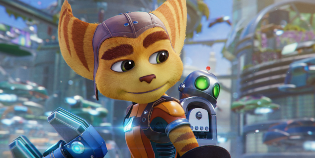 Ratchet and Clank Rift Apart Screen 2
